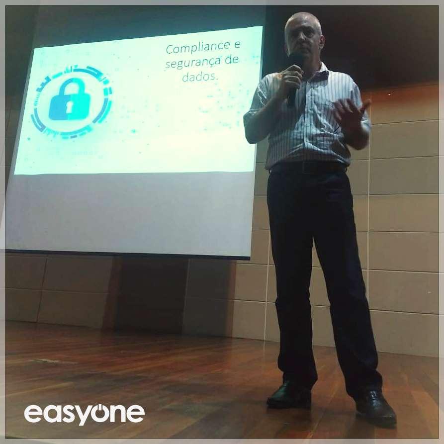 Segurança de dados em compliance: palestra do CEO da EasyOne Consultoria de SAP, Olavo Didyk
